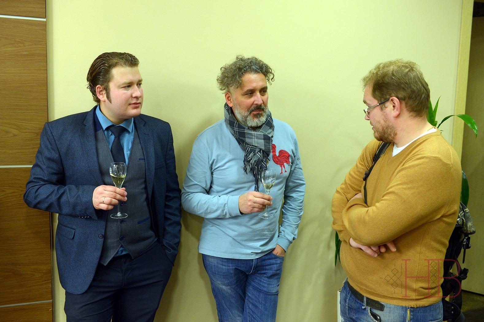 Илья Волошин, Дмитрий Овчаров, Сергей Антонов