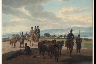 На Кавказе. Вильгельм фон Кобель, 1804