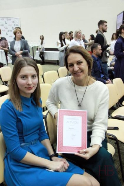 Виктория Воеводина и Елена Колчанова (Инкерман)