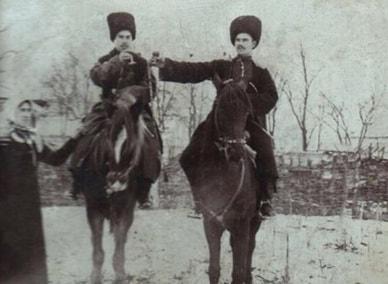 Станица Наукрская, начало 20 века