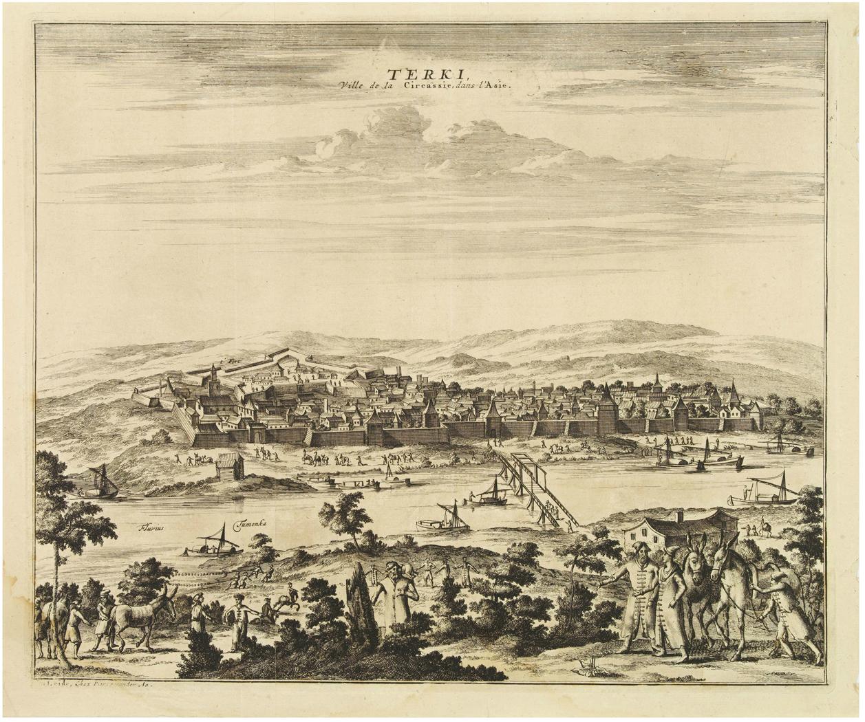 Город Терки, преемником которого стал Кизляр. 1647
