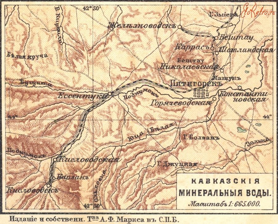 KMV map