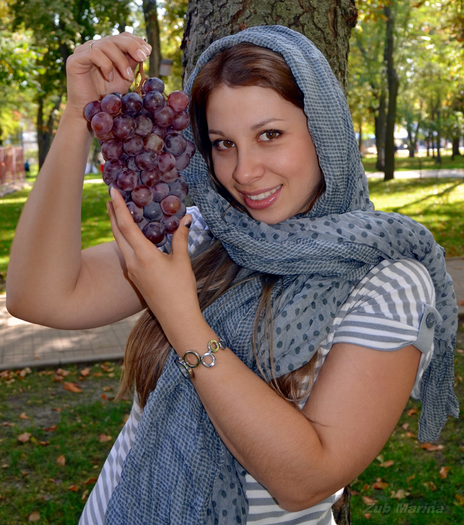 Виноград в Абхазии