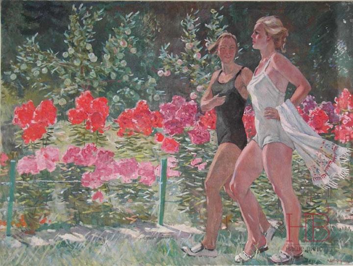 Крым - мечта советских отдыхающих, воплощеная в полотнах Александра Дейнеки
