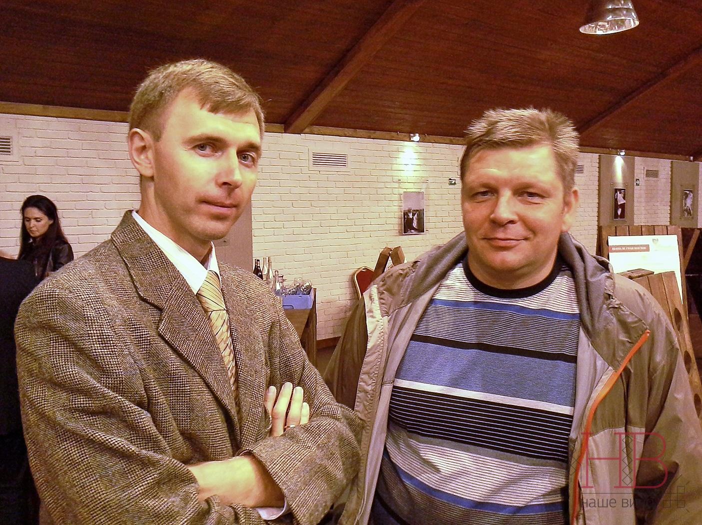С Дмитрием Гусевым в Абрау-Дюрсо