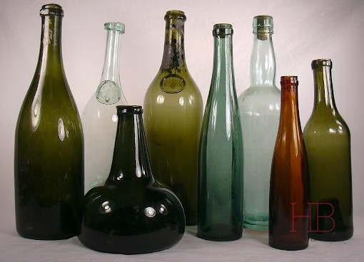 Формы бутылок