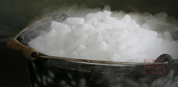 Рис. 1 Сухой лед мелкий