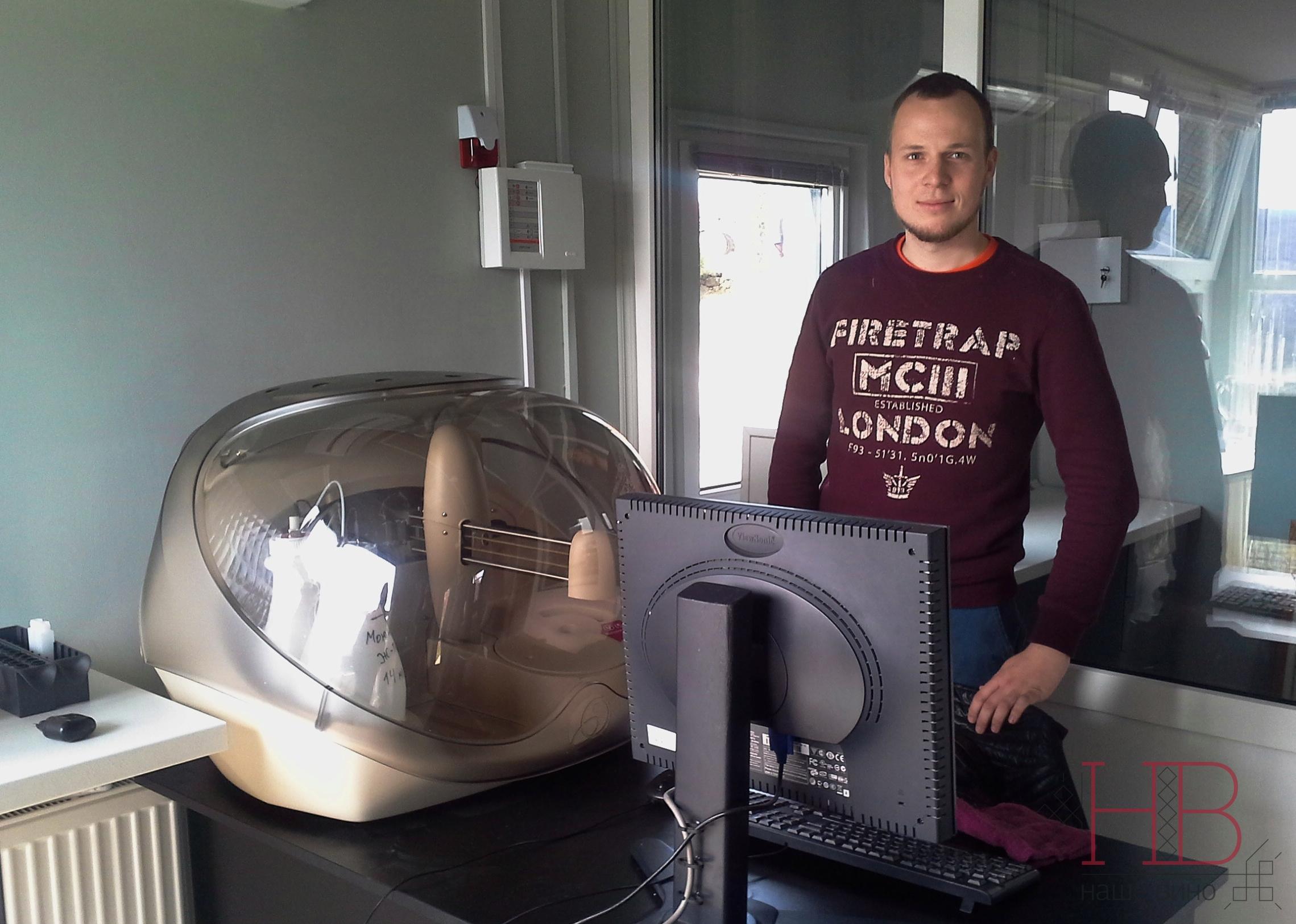 Алексей Чернега и микролаборатория Александра Пинчука