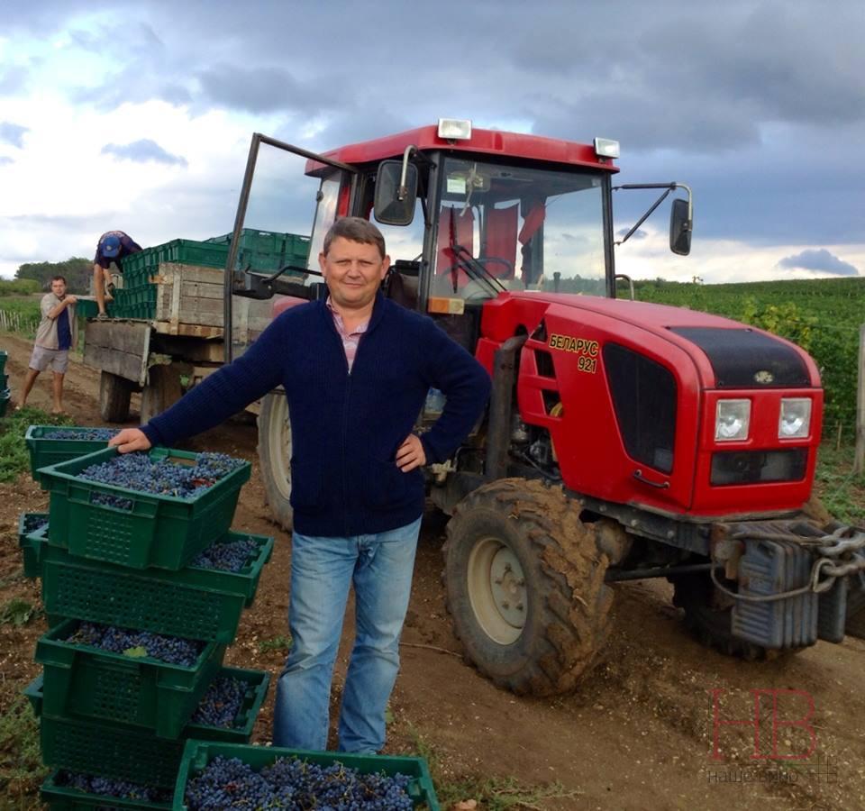 Олег Репин - один из лидеров севастопольского виноделия