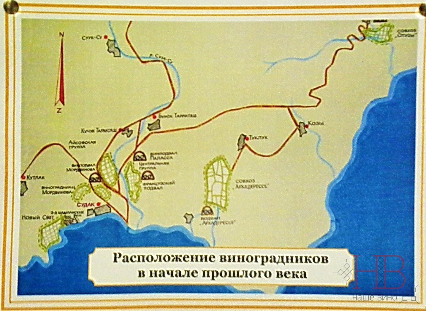 Карта из музея Нового Света