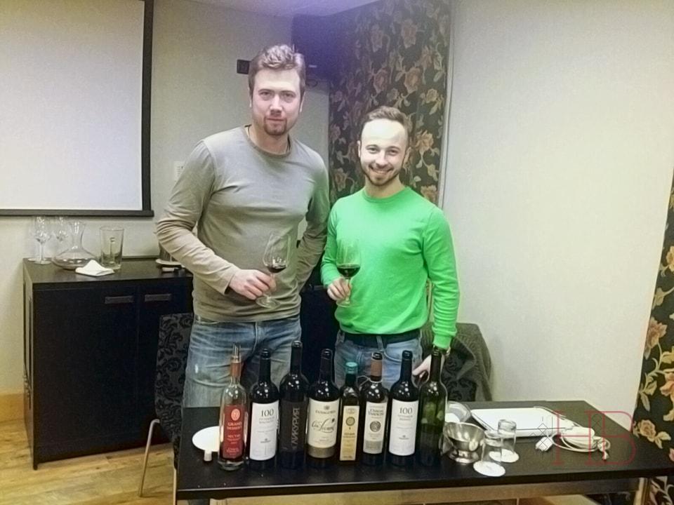 Игорь Ершов и Артем Вариков