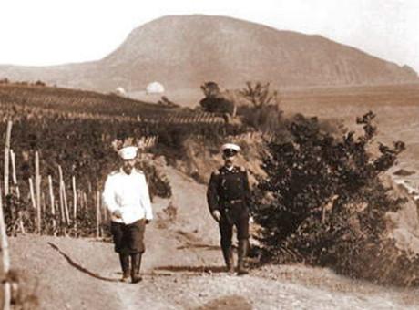 Государь на виноградниках Ай-Даниля