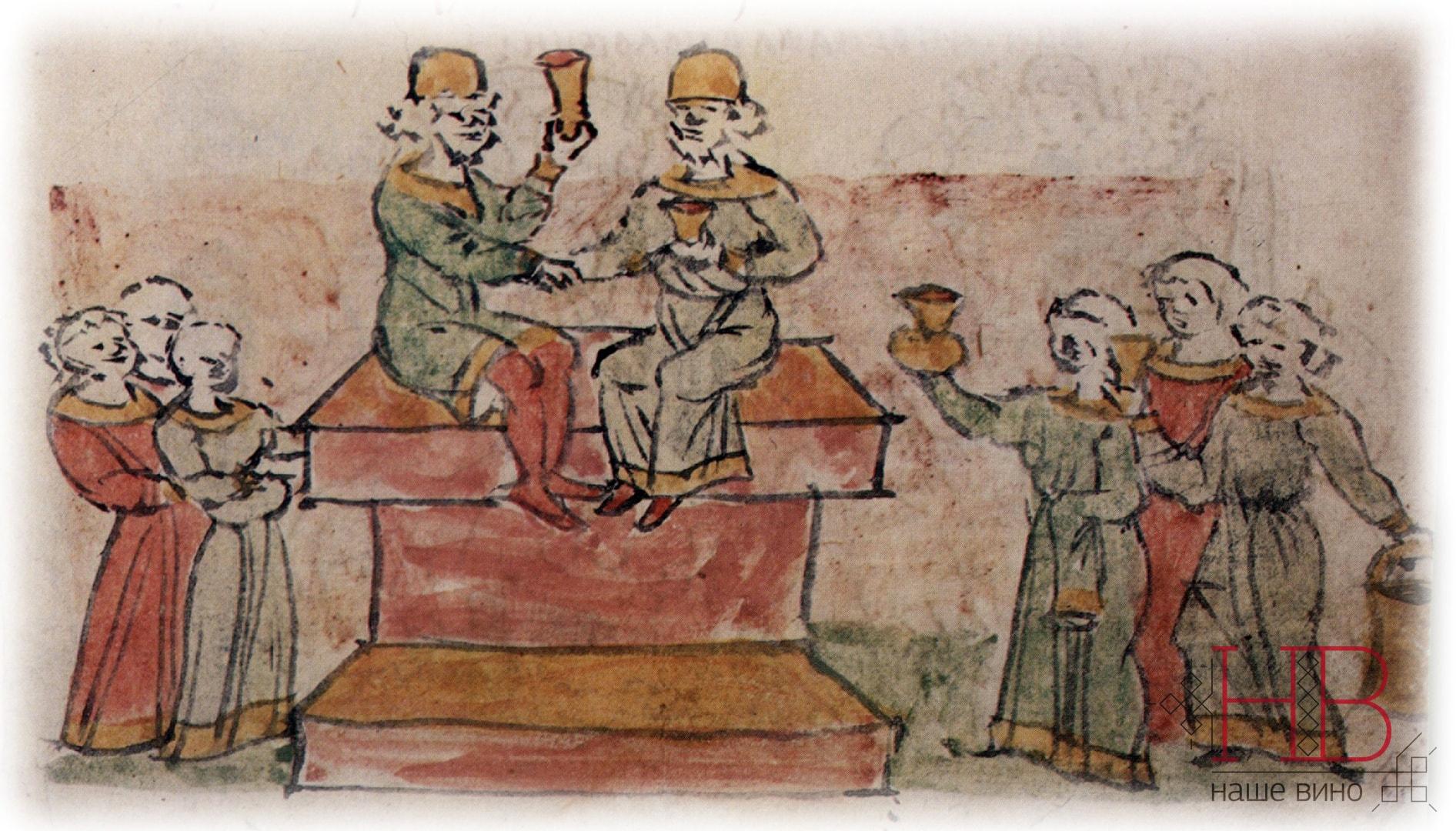 Миниатюра Радзивилловской летописи